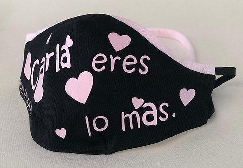 Mascarilla niñ@s Corazones