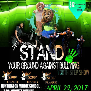 Parents Against Bullying of Virginia presents: Stand Your Ground for Peace