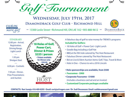 The 3rd Annual Golf Tournament of The Ripple Effect Wellness Organization