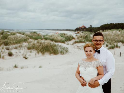 Plener Ślubny nad morzem ❤️Magda i Piotr❤️