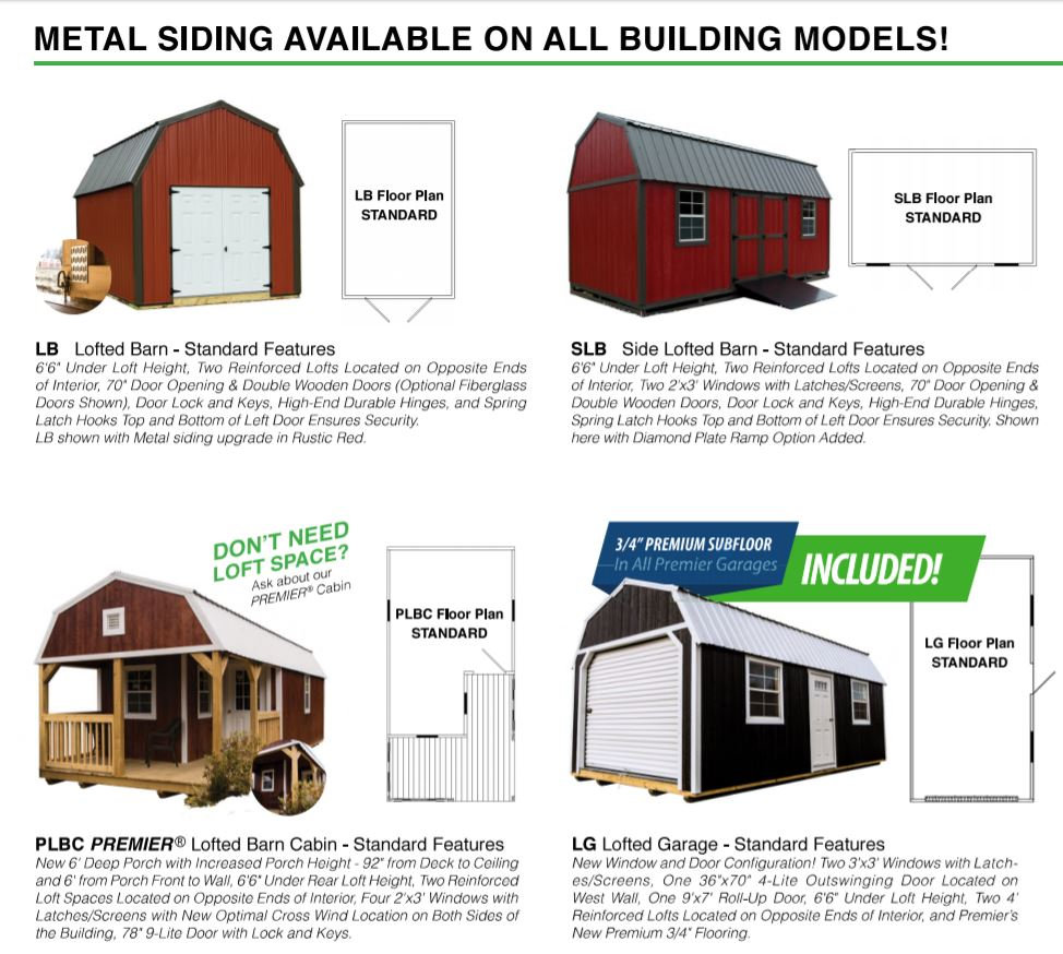 Amarillo Portable Buildings I Storage Sheds