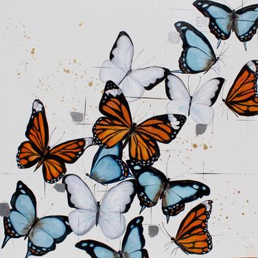 Kaleidoscope of butterflies #2