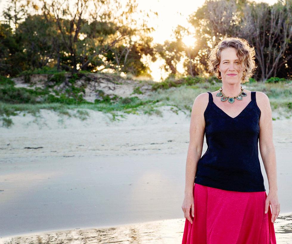 Beks Thompson, health, personal development and yoga on bribie island