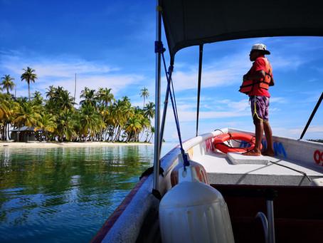 Isla Pelícano en Guna Yala, el paraíso donde se filmó la serie netflix de la Casa de Papel.