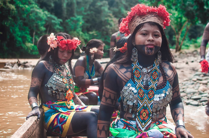 Hermosas Embera - Foto por Thony Lions