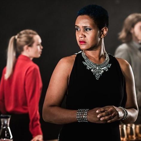 Annemarie Anang as Herodias, Salomé, Ricky Dukes, Lazarus Theatre, 2019