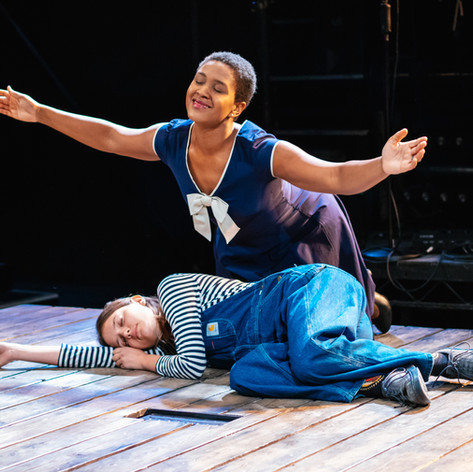 Annemarie Anang as Tammy in Serve and Protect, Jordana Belaiche, Southwark Playhouse 2018
