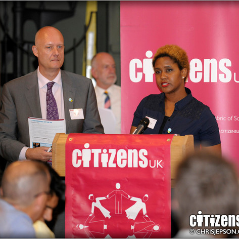 Annemarie Anang, Social Care activist, Speaking at Citizens UK Assembly, 2014