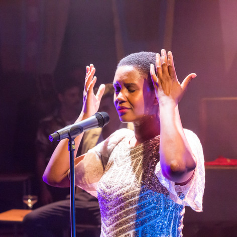 Annemarie Anang as Lulu in Scenes from the End of the World, Chris Bush, The Yard Theatre, 2018