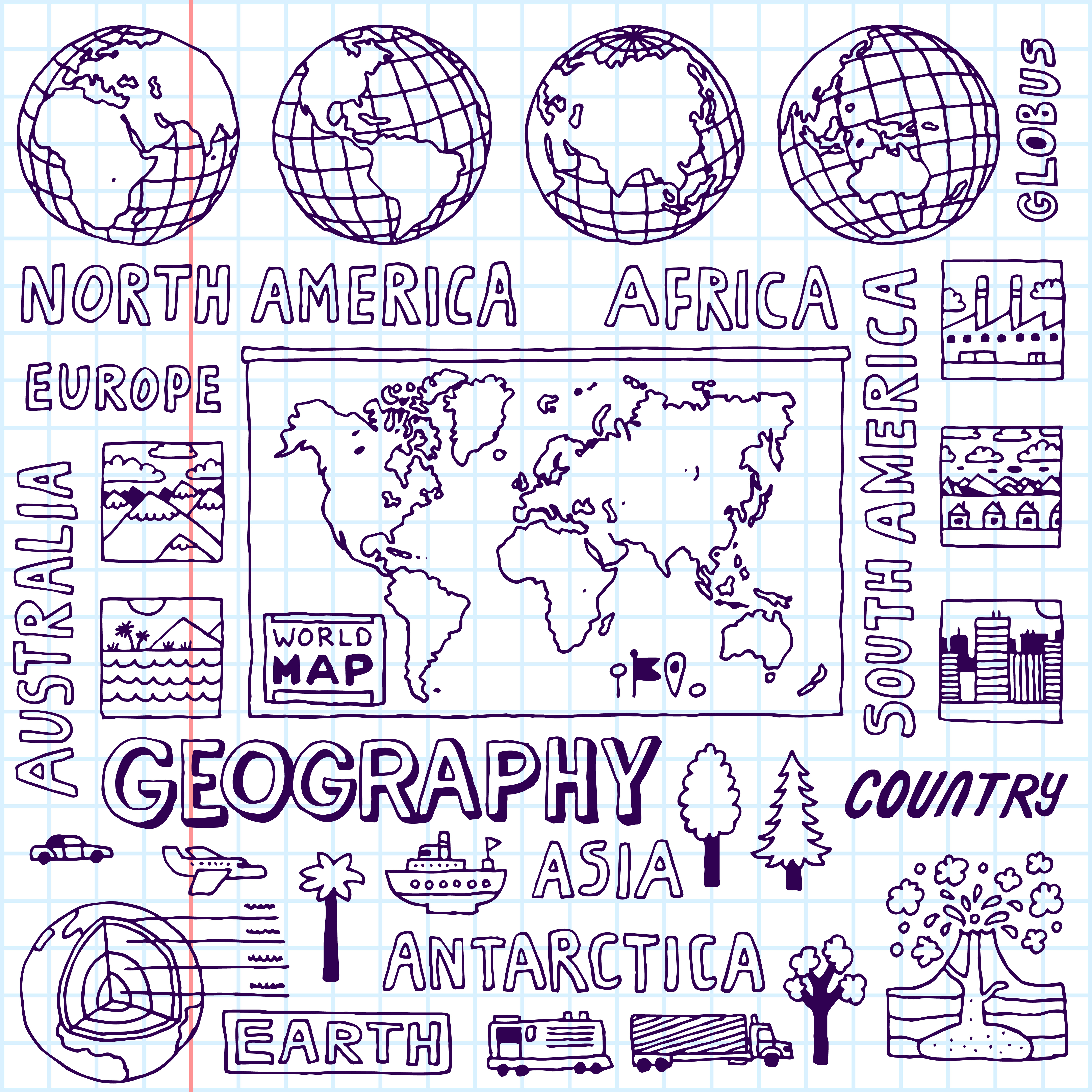 Geographydoodles