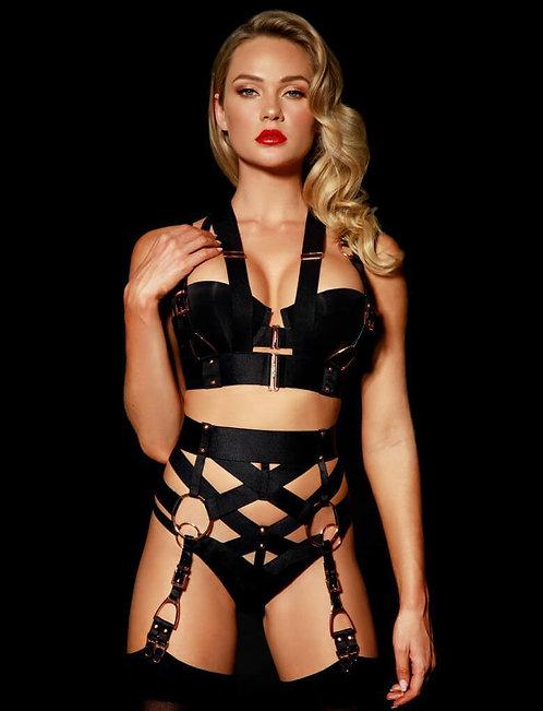 Honey Birdette Carter Suspender Set- Small