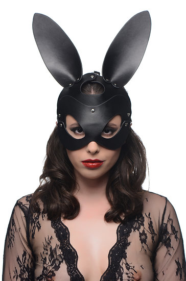 Bunny Tail Anal Plug and Mask Set