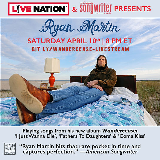 Ryan Martin Livestream Wandercease