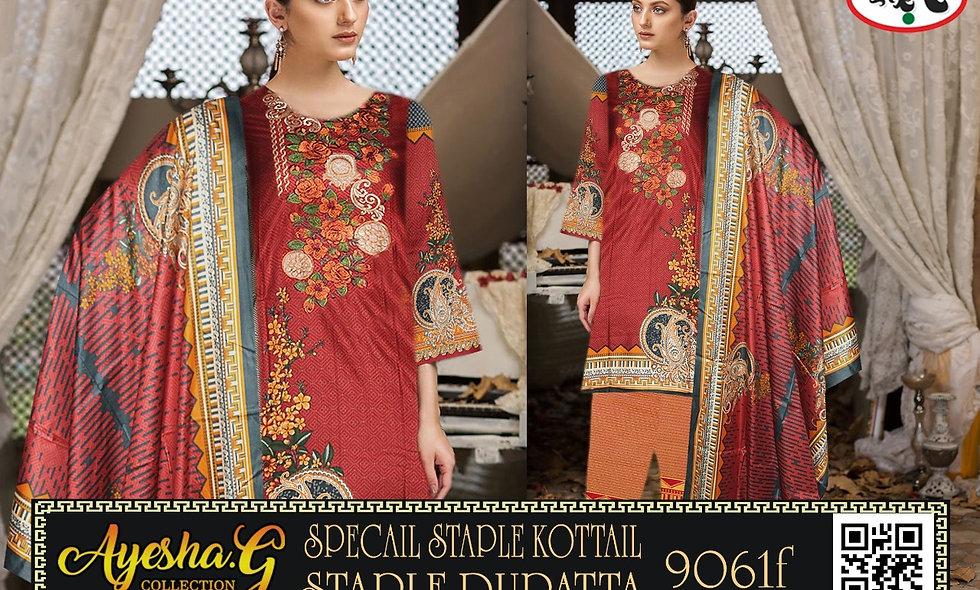 Special Staple Kottail Staple Dupatta 5 suits 1 box