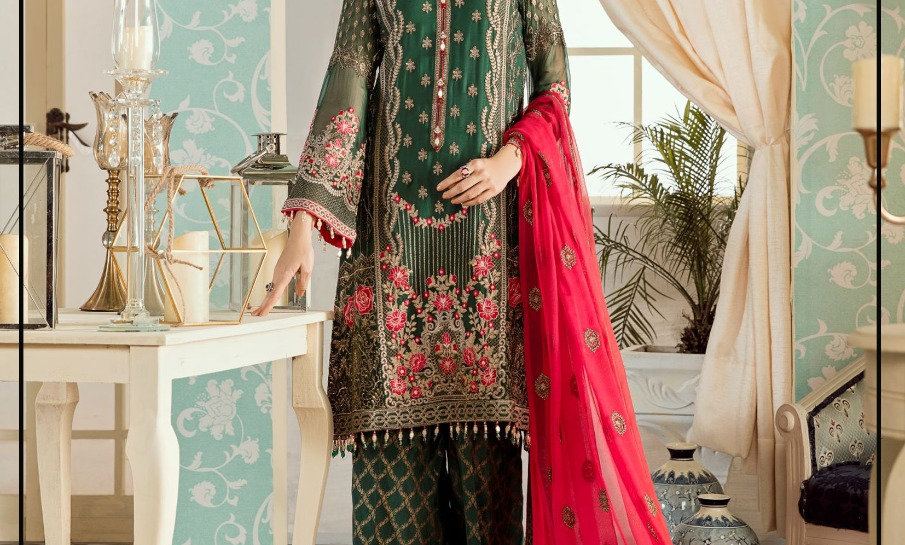 Collection lawn With Chiffon Dupatta