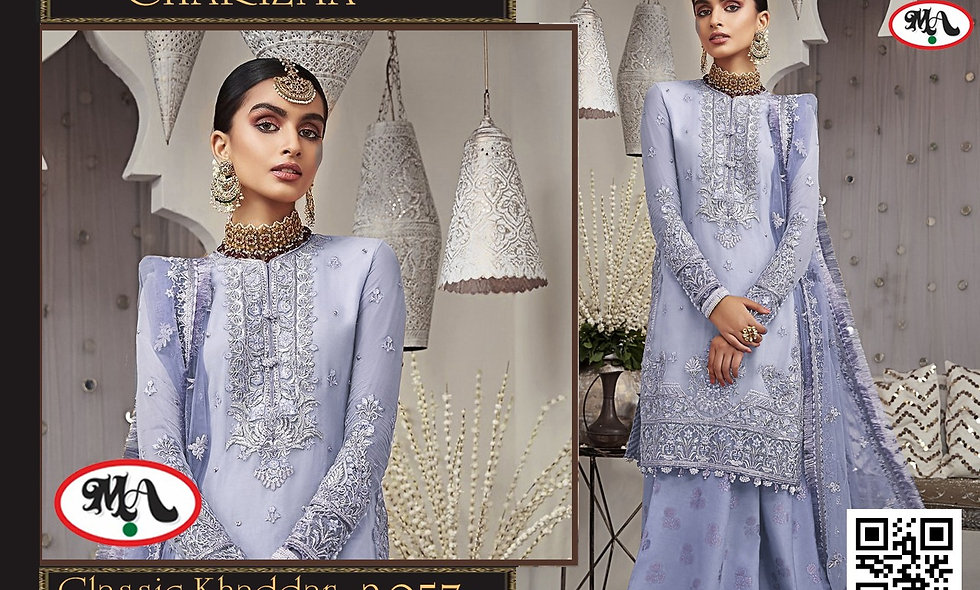 Classic Khaddar Wool Shawl D9565 8 suit in one box
