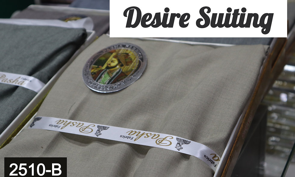 Desire Suiting Gents volume #2510-B