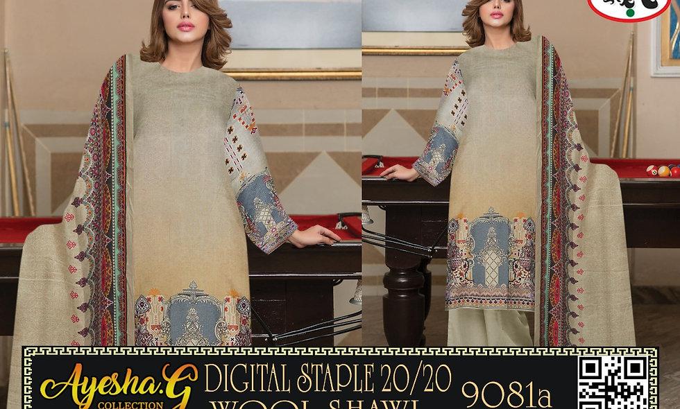 Digital Staple 20/20 Wool Shawl 7 suits 1 box