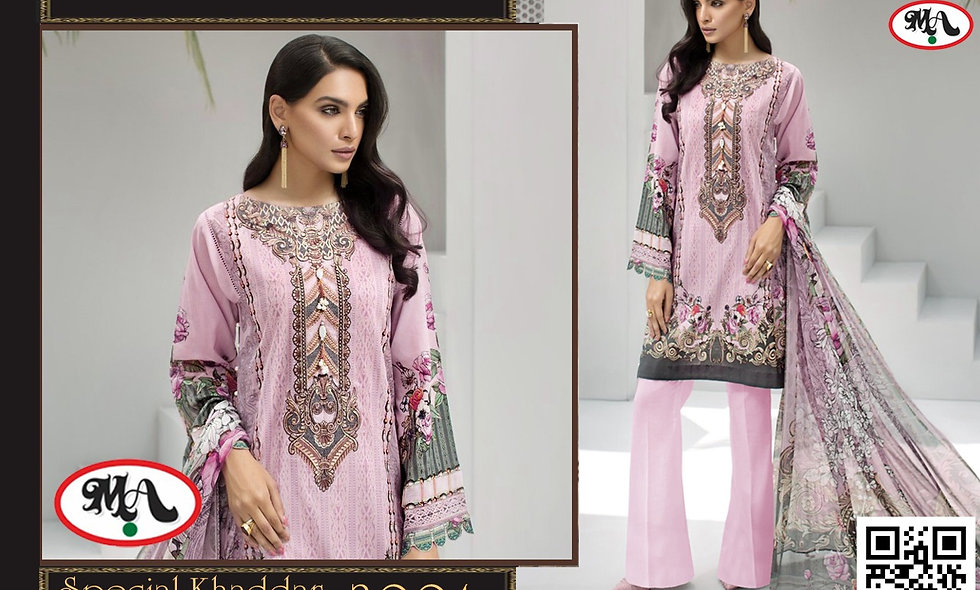 Special Khaddar with Wool Shawl  6 suits 1 box