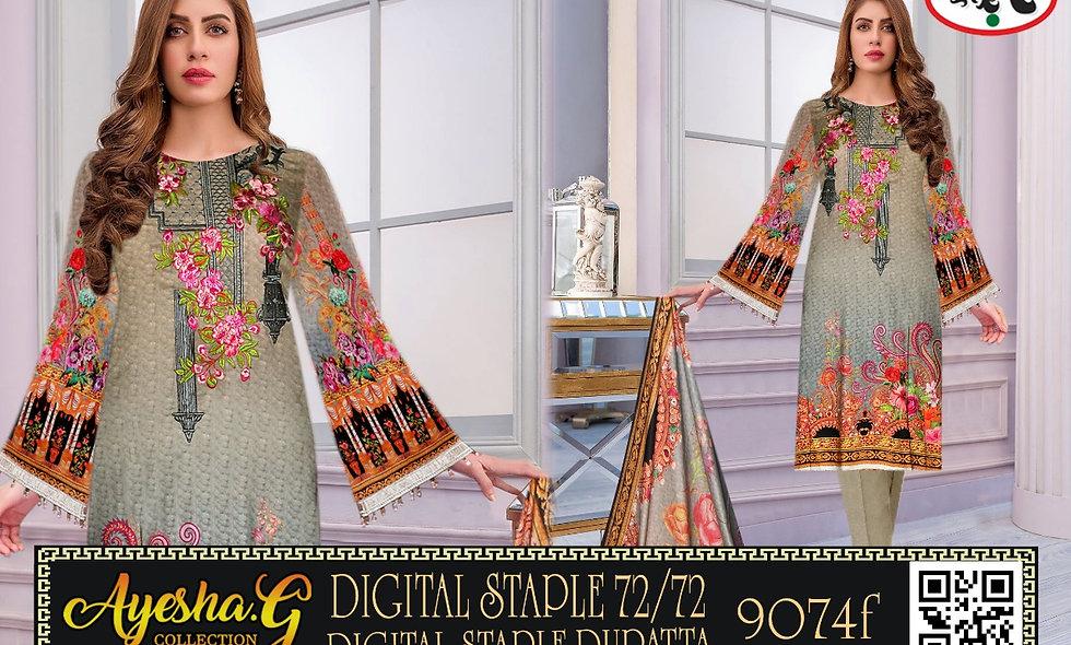 Digital Staple 72/72 Digital Staple Dupatta 5 suits 1 box