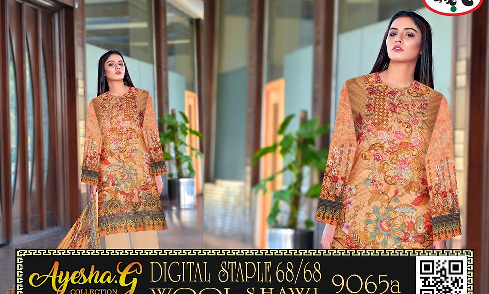 Digital Staple 68/68 With Wool Shawl 5suits 1 box