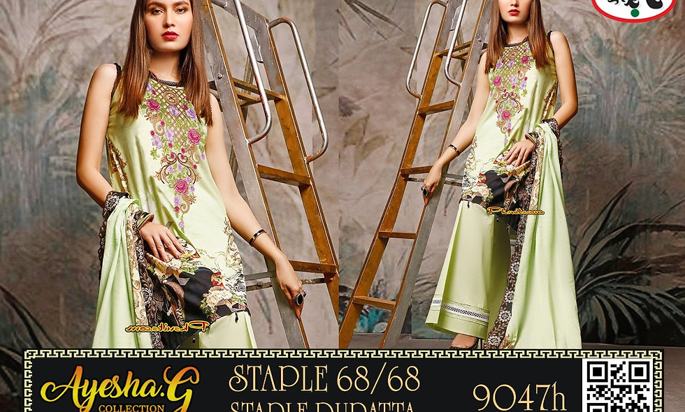 Digital Stapal Linen 68/68 With Linen Dupatta 4 Suits In One Box