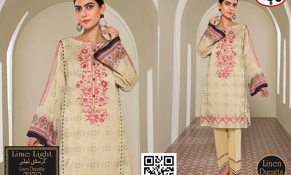 Crystal Linen D9564 8 suits in 1 box