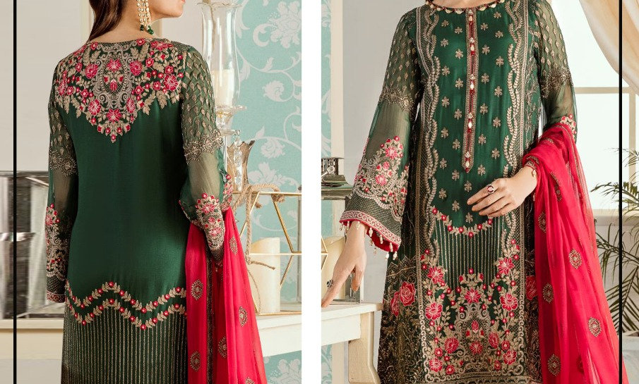 Collection Lawn with Chiffon Dupatta 10 Suits in One Box