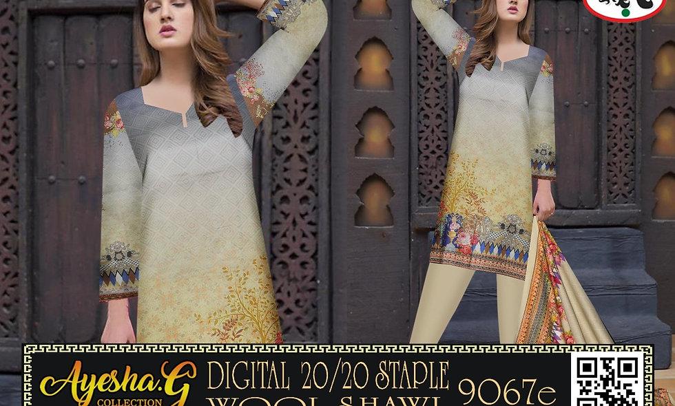 Digital 20/20 D9067 Staple Wool Shawl 10 suits 1 box