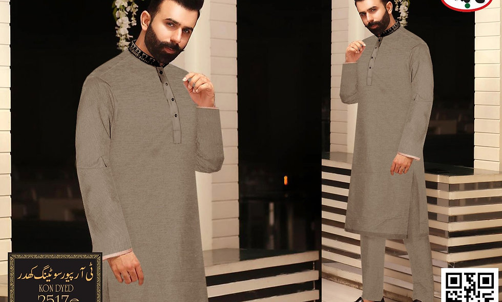 T R PURE suiting khaddar D2517 6 suit in 1 box