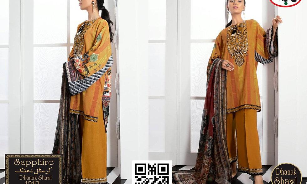 Crystal Dhanak D9574 6 suit in 1 box