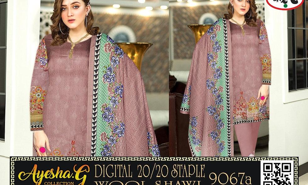 Digital 20/20 Staple Wool Shawl 5 suits 1 box