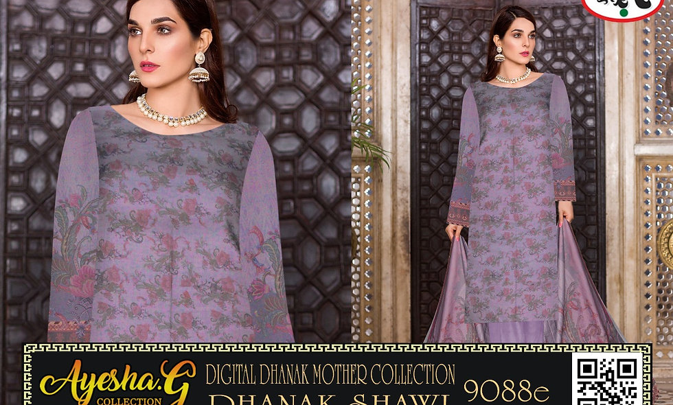 Digital Dhanak Mother Collection With Dhanak Shawl 10  suits 1 box