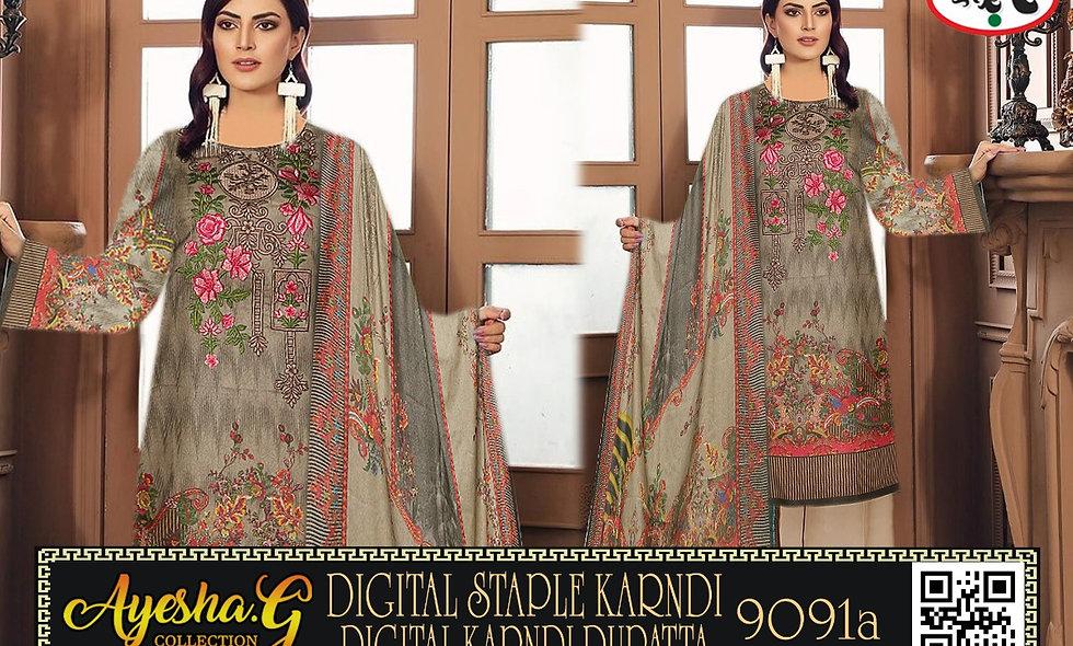 Digital Staple Karndi Digital Karndi Dupatta 9 suits 1 box