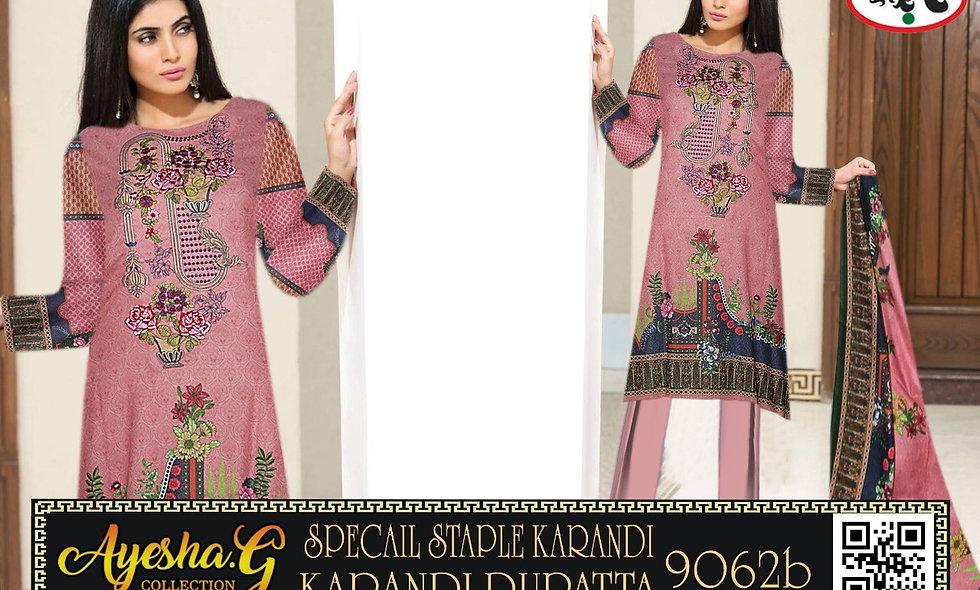 Special Staple Karandi Karandi Dupatta 6 suits 1 box
