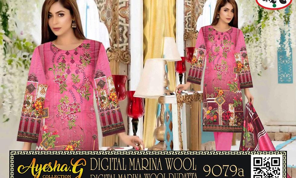 Digital Marina Wool Digital Marina Wool Dupatta 10 suits1 box