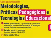 Metodologias, Práticas Pedagógicas e Tecnologias Educacionais