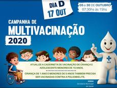 Campanha multivacinação