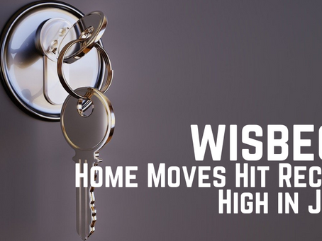 Wisbech Home Moves Hit Record High in June