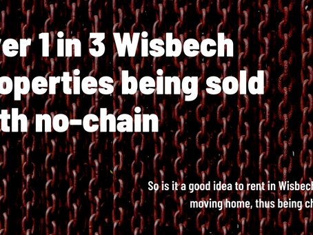 Over 1 in 3 Wisbech Properties Being Sold with No Chain