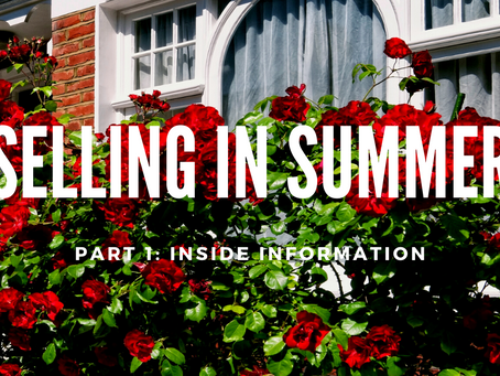 Selling in Summer (Part 1)