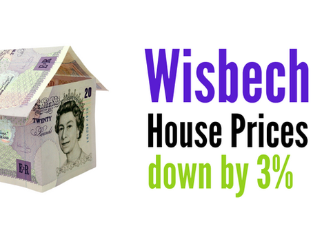 Wisbech Homes Asking Prices Down 3%