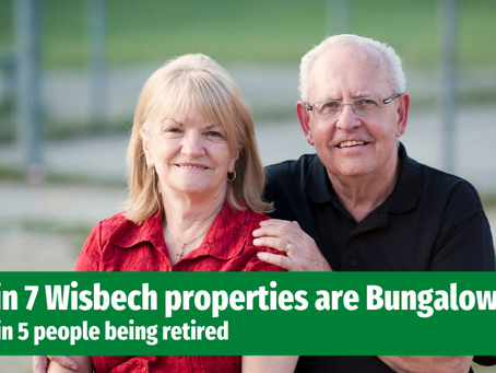 Only 1 in 7 Wisbech Properties are Bungalows, Despite an Ageing Population. Why?