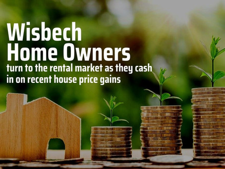 Wisbech Homeowners Have Turned to the Rental Market to Cash in by £15,900 Each