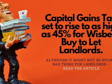 Possible savings from the new Capital Gains Tax changes!