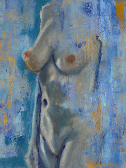 Nude In Blue