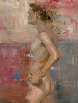 florence nude h45xw35cm framed sbunn