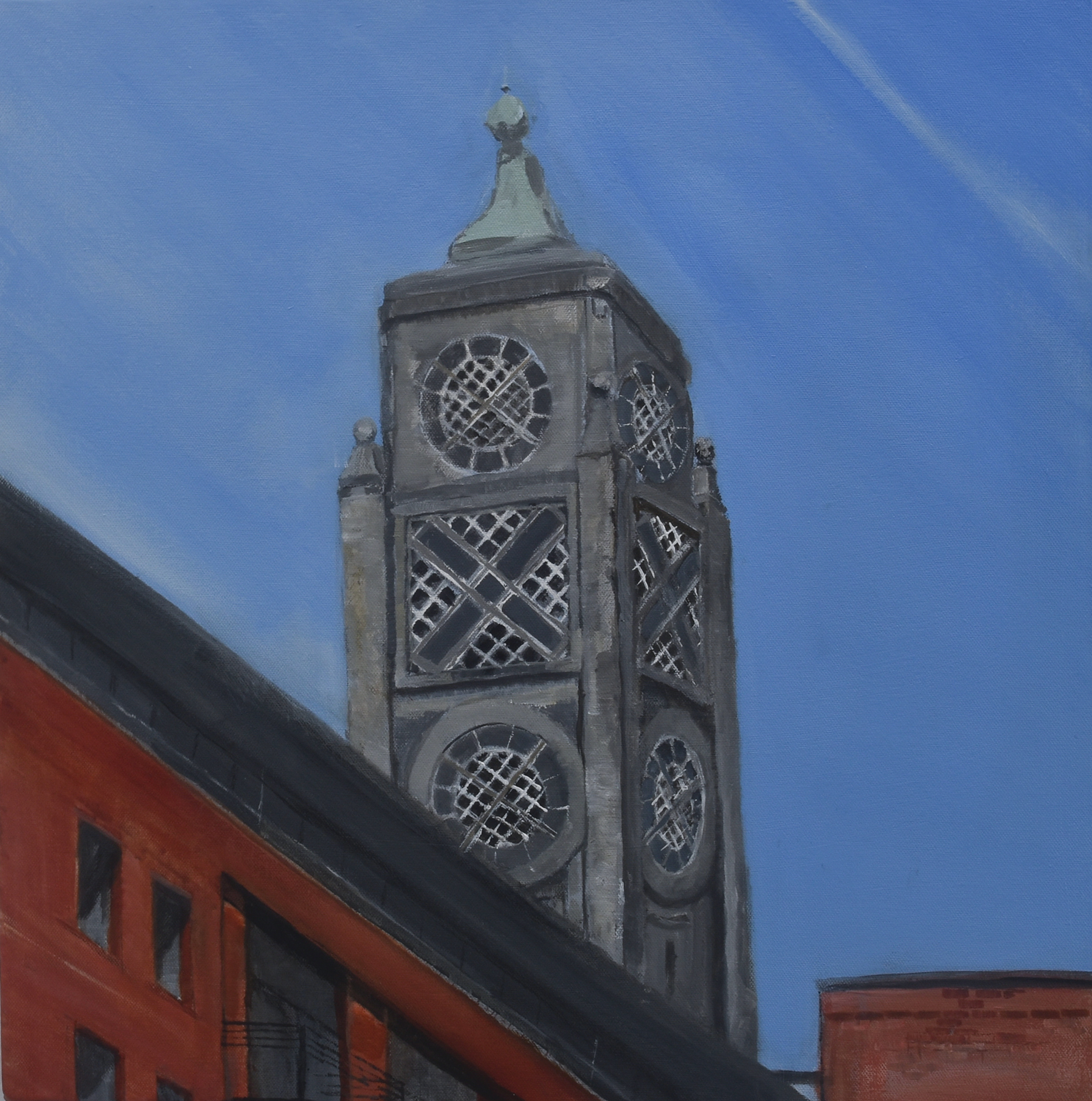 Susan Bunn The Oxo Tower 50x50cm
