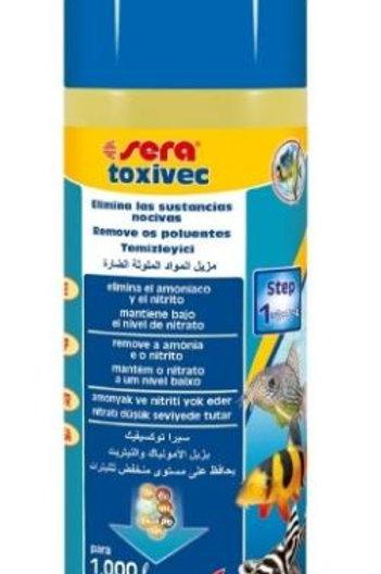 Sera Toxivec 250ml Eliminia Amônia Nitrito - Nitrato
