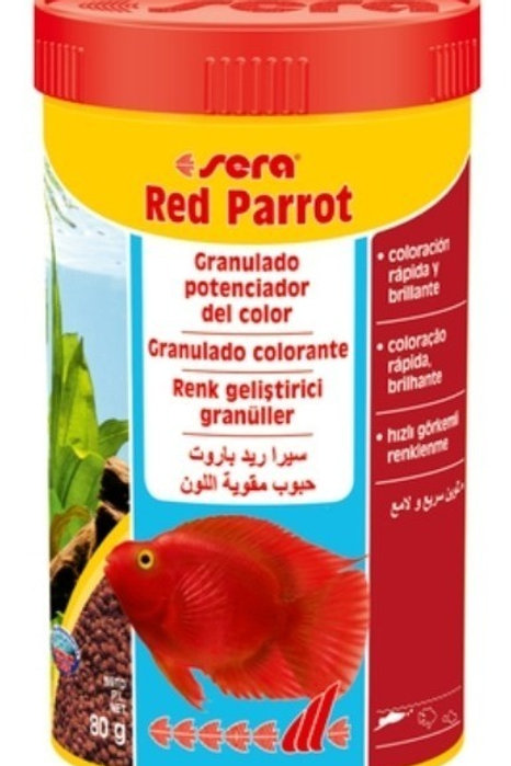 SERA RED PARROT 80g